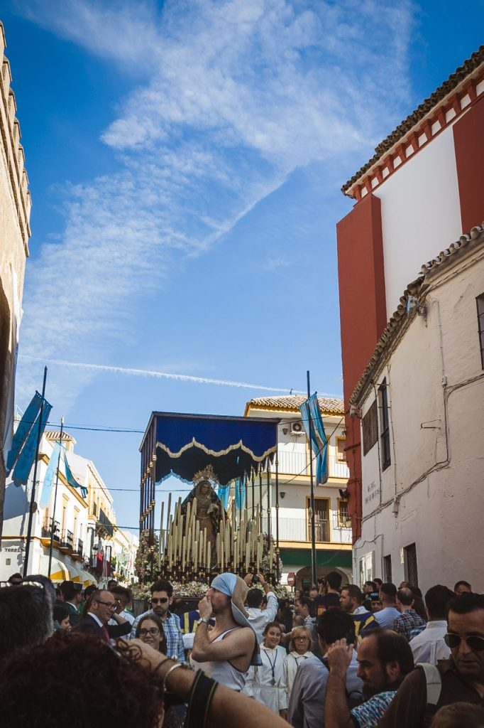 Semana Santa Palio Virgen de la Merced de Marchena Sevilla