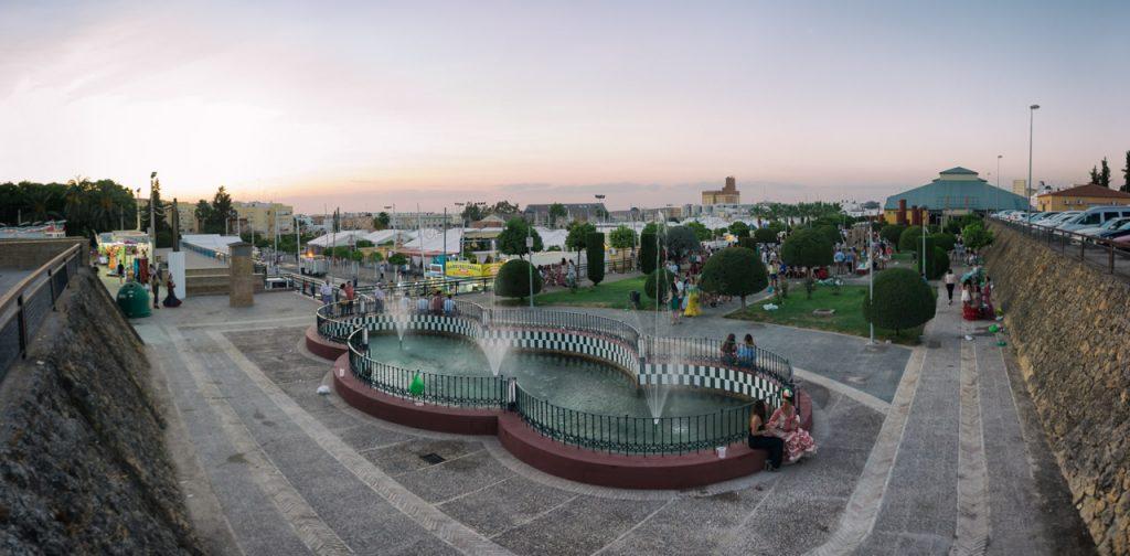 Fuente Las Pirámides Feria de Marchena 2017